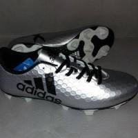 sepatu bola adidas x 2016 silver include box