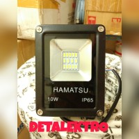 TERJAMIN!!! LAMPU SOROT 10W | LED FLOOD LIGHT 10 WATT | HAMATSU 10WATT