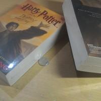 Buku Novel Harry Potter and the deathly hallows Murah