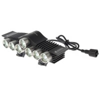 TrustFire LED Bicycle Light 7x Cree XM-L2 3200 Lumens - TR-D013