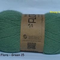 harga Drops Flora Hijau - Benang Rajut Impor Wol Alpaka Import Wool Alpaca Tokopedia.com