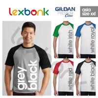 harga Kaos Polos Gildan Raglan Big Size (xxl) Tokopedia.com
