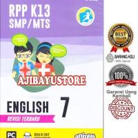 CD RPP K13 SMP/MTS ENGLISH KELAS 7