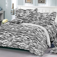Bedcover set import uk 180 motif zebra