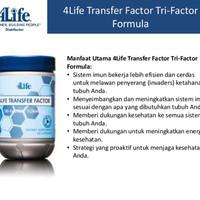TRANSFER FACTOR ADVANCE TRI FACTOR FORMULA 4LIFE