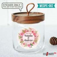 label sticker souvenir pernikahan wedding kebaya pengantin WEDPC082