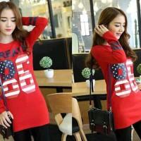 Baju wanita online murah/baju gaun wanita Mini Korea Eksklusif