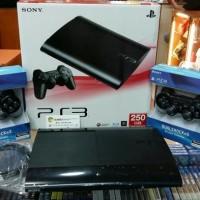 Ps3 Superslim 500gb Full Game Bonus 2 Stik Wireless Op Sony