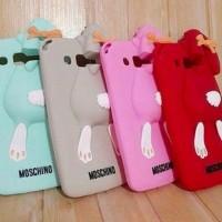silicone case moschino rabbit / bunny / kelinci samsung grandprime