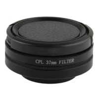 CPL 37mm Filter Polarizer Lens Filter With Cap For Gopro Hero3 Murah