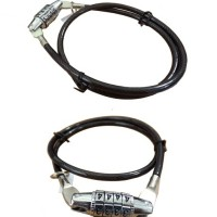 Kunci Gembok Helm / Sepeda Pengaman Seling wire Kode Nomor code angka