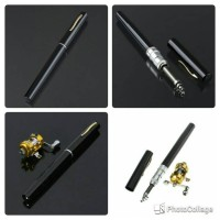 Jual Alat Pancing Berbentuk Pulpen 1M / Portable Pen Fishing Murah