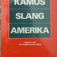 KAMUS SLANG AMERIKA