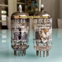 6DJ8 ECC88 Amperex Holland Bugle Boy dual triode preamp tube 6922