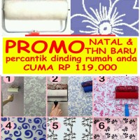 Roll Pattern Wallpaper atau Roll Cat Motif