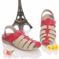 harga Sandal Kickers Wanita Cantik Murah Sepatu Wedges Flatshoe Tokopedia.com