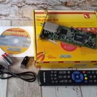 harga SkyStar S2 Multimedia HD Digital Satellite DVB-S2 PC PCI Card Tokopedia.com