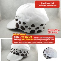 harga Topi One Piece Trafalgar Law New World Tokopedia.com