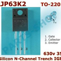 RJP63K2 630v 35A Silicon N-Channel PDP Trench IGBT RJP 63K2 TO-220