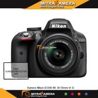 Kamera Nikon D3300 Kit 18-55mm Vr II