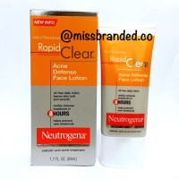 Jual Neutrogena Rapid Clear Acne Defense Face Lotion - 50ml - missbranded.co | Tokopedia