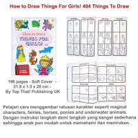 How to Draw Things For Girls! 404 Things To Draw (US-ACT-PC-TGIRL)