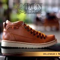 Sepatu Dondicero Millenium Kulit Tan