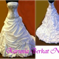 Bridal Gown IMPOR USA Gaun Pengantin Designer Allure Royale NOT KOREA