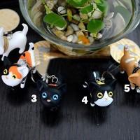Keychain Gantungan Kunci Kucing Lucu - 5 Tipe Pilihan Grosir