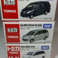 Tomica Toyota Avanza Veloz Black, Silver & White (3pcs)