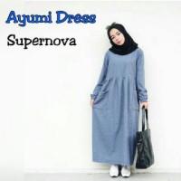 harga Ayumi dres / dress murah bumill / longdress katun / gamis simple Tokopedia.com