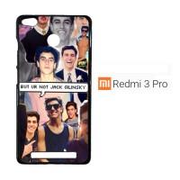 Jack Gilinsky Collage F0116 Casing Xiaomi Redmi 3 Pro / Redmi 3S Custo