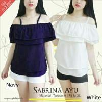 SabrinaAyu [Atasan Wanita Blouse 0106]