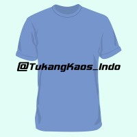 Jual Kaos Polos Cotton Combed 20s Light Blue Murah