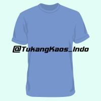 Jual Kaos Polos Cotton Combed 20s Light Blue Murah