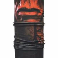 Sale CK Bandana Buff Masker Multifungsi Motif Red Skull