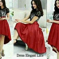 pakaian import dress panjang/model baju gaun Dress Korea Eksklusif