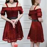 pakaian import dress panjang/model baju gaun Dress Koreanstyle Terlari
