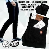 Celana Jeans Slimfit Cheap Monday Hitam