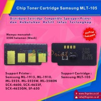 Chip Samsung MLT-105, Chip Reset Printer Samsung ML 1915 ML-1910 2525