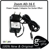 Zoom AD-16 E Power Supply Adaptor Efek Gitar 9V 500mA (Guitar Effects)