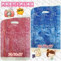 plastik hd oval uk. 36/30x37 motif batik naga