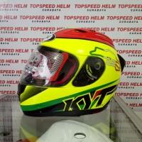 helm kyt rc7 #15 circuit itali kuning