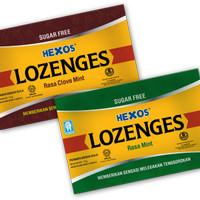 Hexos Lozenges clove dan mint