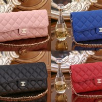 CHANEL QUILTED CLUTCH ( 4 WARNA )