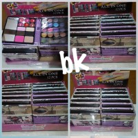 Jual [Dompet Besar] Golden beauty make up kit ( eyeshadow, bedak, lipstik ) Murah