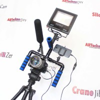 Handheld Rig Low High Angle Camera Kamera DSLR ARTechno DIY