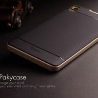 harga 100% ORIGINAL Case Ipaky LENOVO A7000 / Plus Soft Carbon +Bumper Frame Tokopedia.com