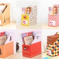 Multibox/ Kotak Organizer Buku Majalah/ Box File Kartun II