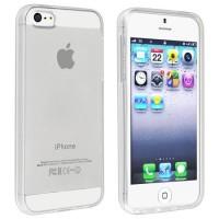 Ultra Thin TPU Case for iPhone SE/5/5s Transparent Sarung pelindung HP